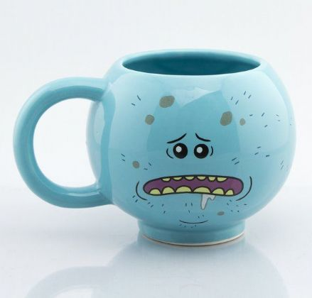 Rick and Morty 3D Mr Meeseeks Mug